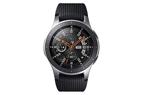 Samsung Galaxy Watch, Runde Bluetooth Smartwatch Für Android, drehbare Lünette, Fitness-tracker,...
