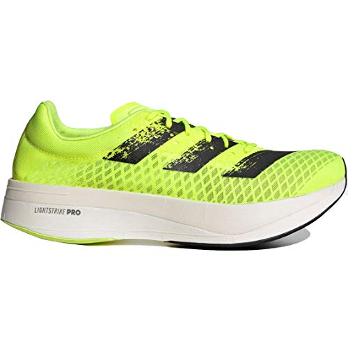 adidas Herren Adizero Adios Pro Running Shoe, Solar Yellow/Core Black/Cloud White, 36 2/3 EU