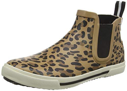 Tom Joule Damen Rainwell Gummistiefel, Braun (Tan Leopard Tan Leopard), 39 EU