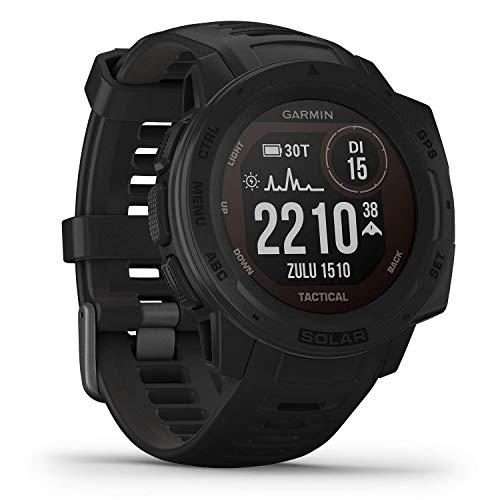 Garmin Instinct Solar Tactical - robuste GPS-Smartwatch mit taktischen Funktionen und...
