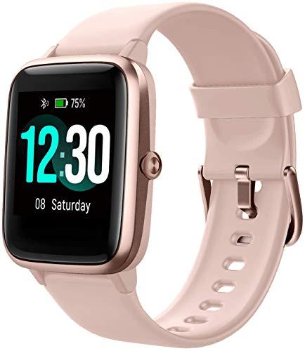 Smartwatch, Fitness Tracker Uhr 1.3' HD Voll Touchscreen, Damen Herren Uhren Watch für Android IOS,...