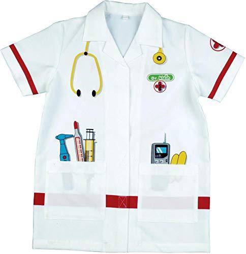 Theo Klein 4614 Arztkittel I Hochwertiges Kostüm I Maße: Länge Circa 55 cm I Spielzeug für...