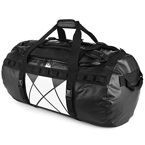 The Friendly Swede Wasserfeste Reisetasche Duffle Bag Rucksack - 30L / 60L / 90L - Seesack,...