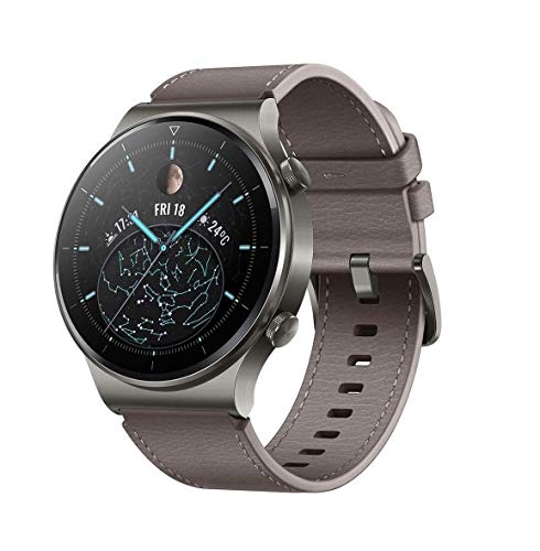 HUAWEI WATCH GT 2 Pro Smartwatch, 1,39 Zoll AMOLED HD-Touchscreen, 2 Wochen Akkulaufzeit, GPS &...