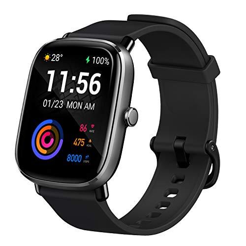 Amazfit GTS 2 Mini Smartwatch GPS Fitness Aktivitätstracker mit Alexa, AMOLED, 14 Tagen...