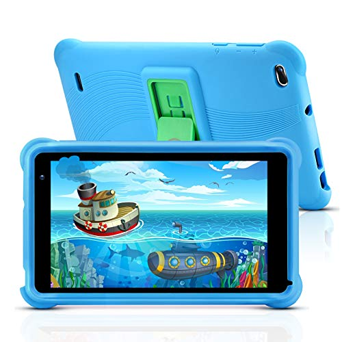 qunyiCO Y7 Kinder Tablet 7 Zoll, Tablet für Kids, 1024 * 600 Full HD-Display, 10,0 Android GO, 2 GB...