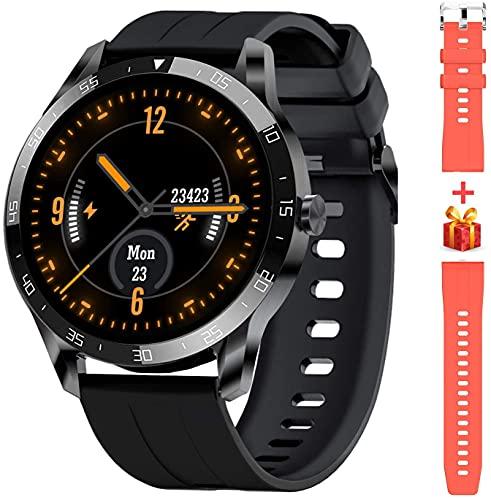 Blackview X1 Smartwatch Herren, Smart Armbanduhr Herren Fitness Tracker Smart Watch Rund 5ATM...
