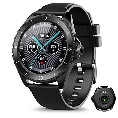 ELEGIANT Smartwatch, Fitness Tracker Für Damen Herren, Fitness Armband Sportuhr...