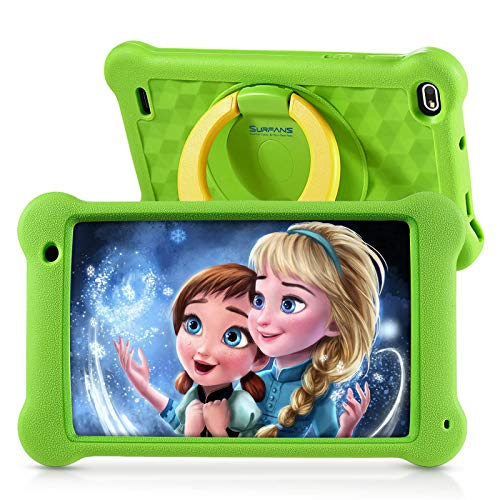 Surfans Kinder-Tablet, 2 GB RAM + 32 GB ROM, 7-Zoll-IPS-FHD-Display, Android 10.0 WiFi-Tablets für...