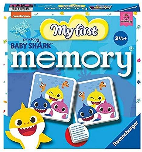 Ravensburger Memory 20650 BSH: My First Memory Spiele 20650-Baby Shark