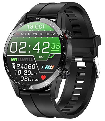 jpantech Smartwatch Voll Touch Screen IP68 Damen Herren Intelligente Uhren Sport  Bluetooth-Anruf  ...