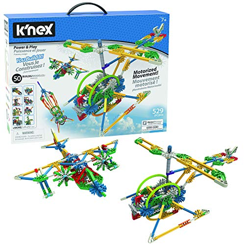 K'Nex 23012 Toy, Case, 525 Motorized Parts