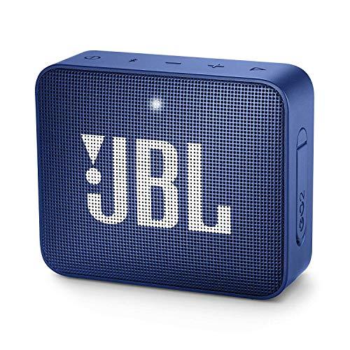 JBL GO 2 kleine Musikbox in Blau – Wasserfester, portabler Bluetooth-Lautsprecher mit...