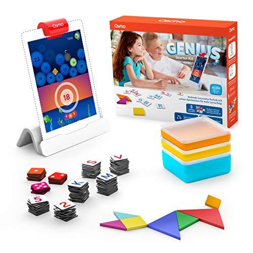 OSMO 901-00041 Genius Starter Kit (Deutsche Fassung) – inklusive 5 vielfältiger Lernwelten-für...