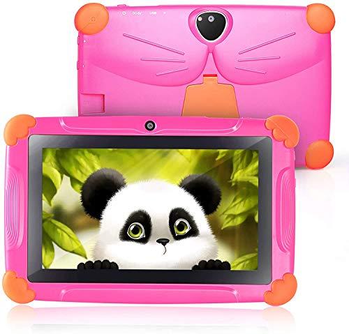 Kinder Tablet, Tablet für Kinder CARRVAS WiFi Android 8.1 GMS Zertifiziertes Kindertablet...