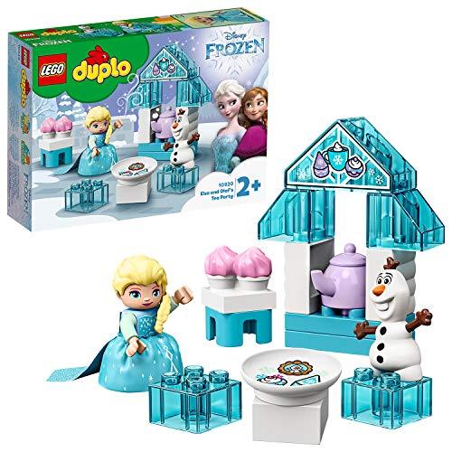 LEGO 10920 DUPLO Princess Frozen II Elsas und Olafs Eis-Café Spielset, große Steine-Set mit...