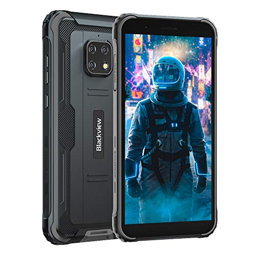 Blackview BV4900 (2020) Outdoor Smartphone (Android 10, 5580mAh Akku, 32 GB interner Speicher, 3GB...
