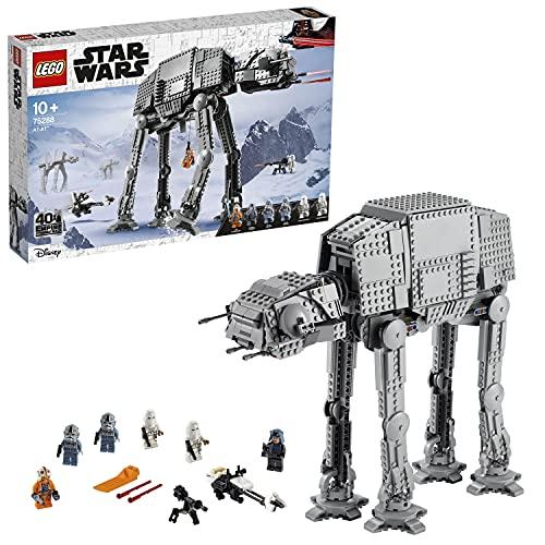 LEGO 75288 Star Wars at-at, Walker Spielzeug, 40. Jubiläum Set, Action-Set für EIN kreatives...
