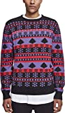 Urban Classics Herren Snowflake Christmas Tree Sweater Sweatshirt, Multicolour...