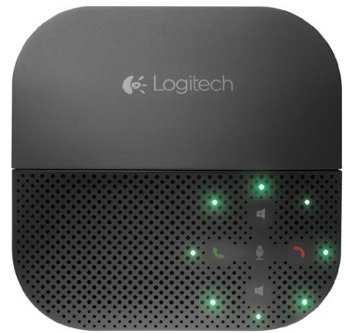 Logitech P710e Speakerphone Kabellose Freisprecheinrichtung, Lautsprecher mit Bluetooth- &...