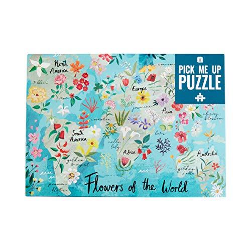 500-teiliges Blumen der Welt Puzzle & Poster   Regentag, Aktivitäten zu Hause, Geburtstagsgeschenk,...
