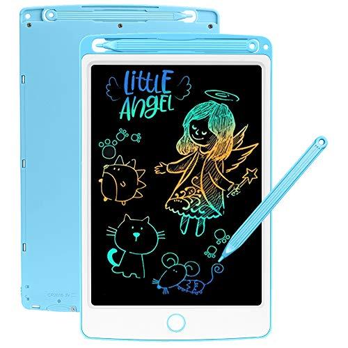SCRIMEMO LCD Schreibtafel 8,5 Zoll Bunte hellere Schrift, LCD Writing Tablet Schreibtafel für...