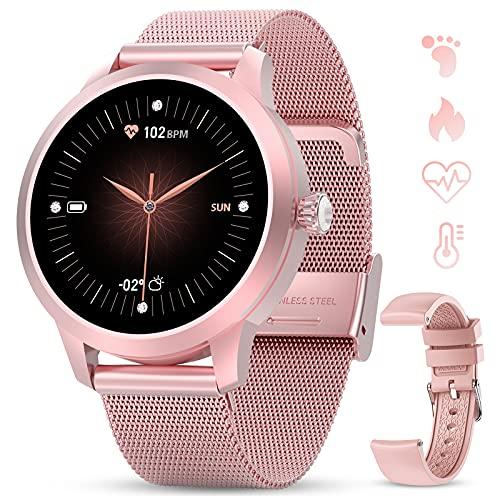 GOKOO Smartwatch Volle Touchscreen Sportuhr Schrittzähler Pulsuhren Stoppuhr Aktivitätstracker...