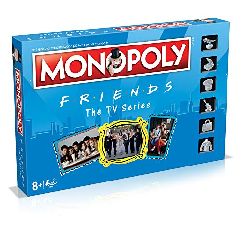 Winning Moves - Friends Monopoly Italian Edition, 036498