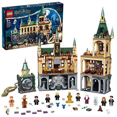 LEGO 76389 Harry Potter Schloss Hogwarts Kammer des Schreckens Spielzeug, Set mit Voldemort als...