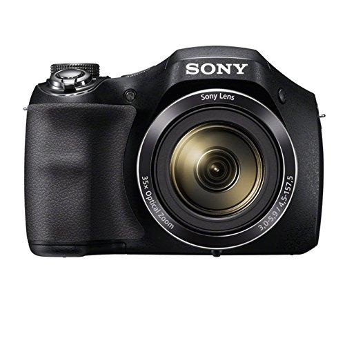 Sony DSC-H300 Digitalkamera Einstiegsbridge (20,1 MP, optischer 35fach Zoom, 25mm...