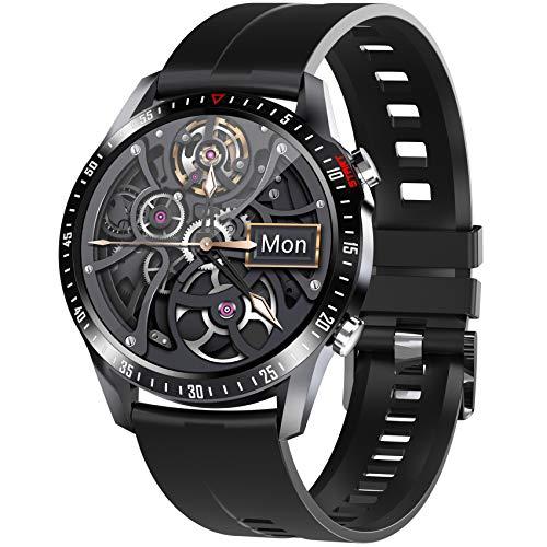 Jpantech Smartwatch, Fitness Armband Tracker Voller Touch Screen Uhr Wasserdicht IP68 Armbanduhr...