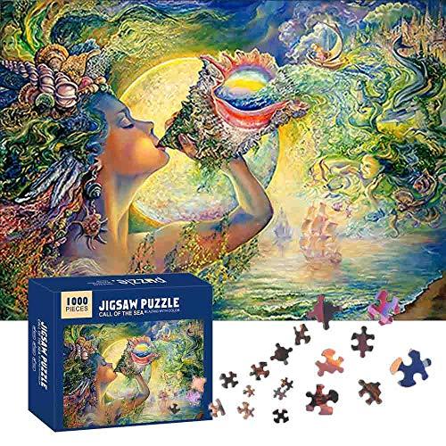 MEISHANG Puzzle,Puzzle Erwachsene Anspruchsvoll,Puzzle Erwachsene 1000 Teile,Jigsaw Puzzle...