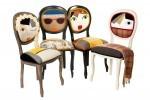 "Zares simpatični stoli / Stoli s ""karakterjem"" / Irine Neacsu"