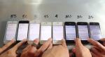 Primerjalni test / iPhone / vse generacije