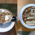 Kavna umetnina -@latte_artist_jk (Twitter)