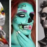 Noč čarovnic - Halloween - Make up // izjemno preprosto in krativno