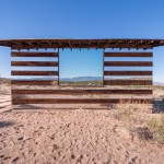 Prosojna puščavska hišica