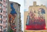 Etam cru – ulične freske ogromnih dimenzij