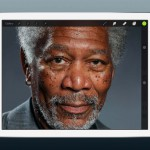 Kyle-Lambert-Morgan-Freeman-Finger-Painting-iPad