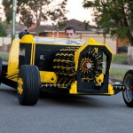 Avtomobil iz lego kock