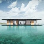 Dymitr Malcew / Plavajoča hiša / Vizualizacija v tropih