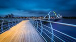 Najdaljši most za pešce v Evropi