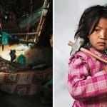 Otroci v svojih okoljih - Zanimiva serija fotografij