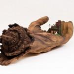 Keramične skulpture kot les