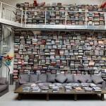 Zasebna knjižnica Karla Lagerfelda.
