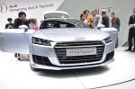 Audi je premierno odkril tretjo generacijo Audi TT s povsem novo, ostrejšo masko. Foto: Nejc Kovačič