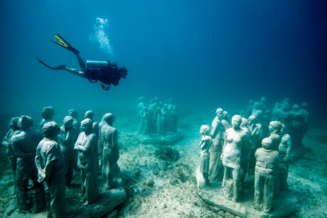 Foto: Cancun Underwater Museum