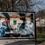 Po dobri hrani si razstavo fotografij Odprte kuhne oglejte še na Krakovskem nasipu. Foto: Tina Lagler