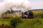 North Yorkshire Moors parna železnica  Foto: Wikimedia