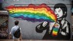 Grafit, ki je bil še lani na stavbi 5 Pointz na Long Islandu (Queens, New York).